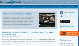 Houston Texas Personal Injury Law Blog