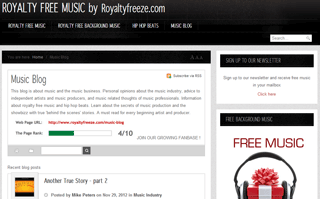 Royalty Free Background Music Blog