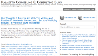 Palmetto Counseling and Consulting Blog