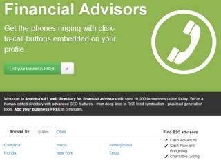 Financial Advisors Directory