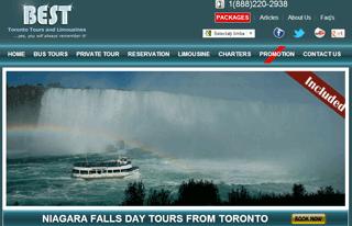 Niagara Falls Tours From Toronto | Niagara Falls Tours