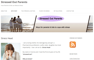 Stressed Out Parents