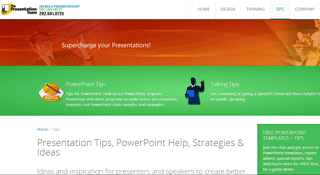 PowerPresentations - Presentation Tips, PowerPoint Help, & Strategies