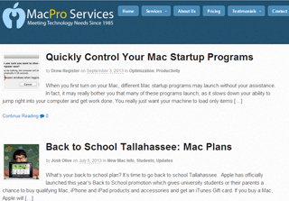 Mac Tips | MacPro Services