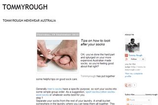 Tommyrough Menswear Australia