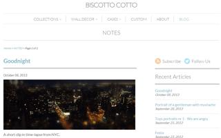Biscotto Cotto creative factory