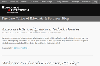 Edwards & Petersen Legal Blog