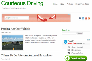 Courteous Driving
