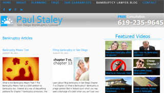 Bankruptcy lawyer blog