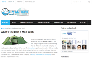 Whats the best 4 man tent | Tent Reviews