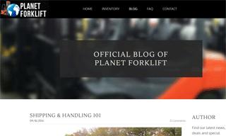Planet Forklift