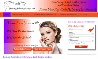 BeautySchoolsNearMe.com - Cosmetology Training