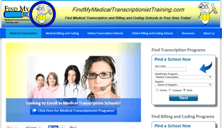 FindMyMedicalTranscriptionistTraining.com