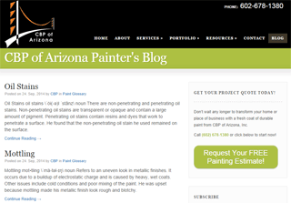 CBP of Arizona Painter's Blog