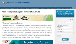 Phlebotomy Guide : Training , Certificaiton and School Help