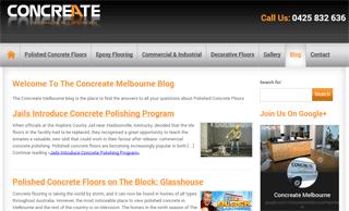 Concrete Flooring Blog