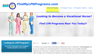 FindMyLVNPrograms.com