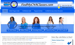 FindMyCNAClasses.com