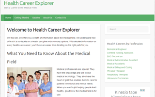 Health and Medical Careers