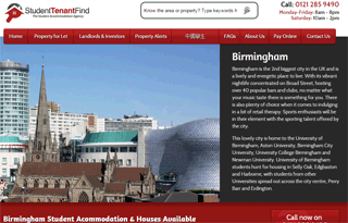 Student Accommodation & Housing in Birmingham