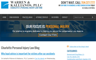 Charlotte Personal Injury Law Blog