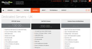 UK Managed Dedicated Servers Hosting | Monkey Tree Hosting Ltd.