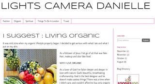 Lights Camera Danielle