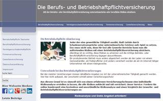 Betriebshaftpflicht-BetriebsHaftpflichtversicherung.de