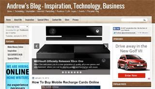 Andrew's Blog - Inspiration, Business, and Technology News