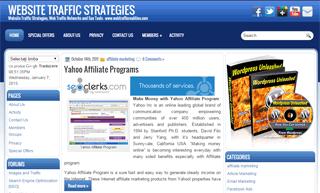 Targeted Web Traffic - Website Traffic Strategies Network