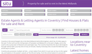 Houses for sale Coventry