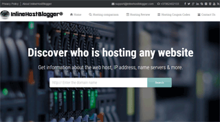 InlineHostBlogger - A Web Hosting review site
