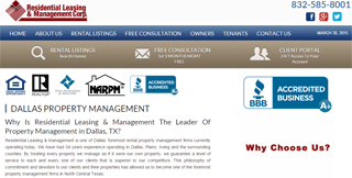 Residential Leasing & Management- Dallas, TX