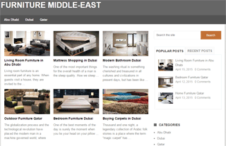 Furniture Middle-East