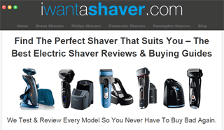 I Want a Shaver