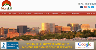 Mars Hill Property Management- Arlington, Virginia