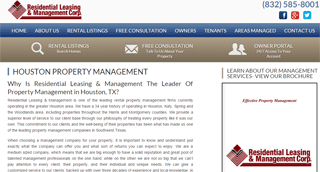 Residential Leasing & Management- Houston, TX