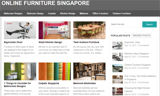 Online Furniture Singapore
