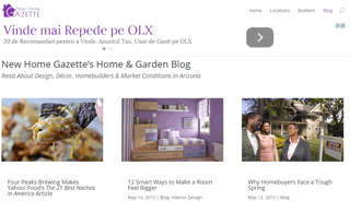 New Home Gazette's Home & Garden Blog