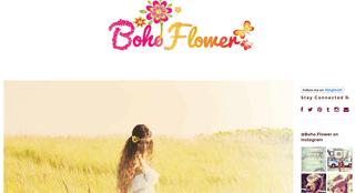 Boho Flower Blog