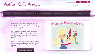 Author and Book Spotlights