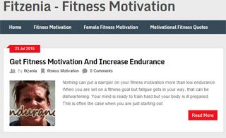 Fitzenia - Fitness Motivation
