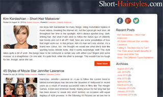 Short hair blog