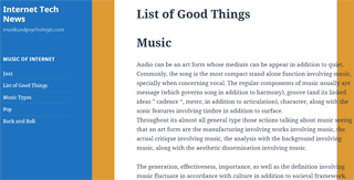 List of Good Things