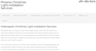 Indianapolis Christmas Light Installation Services Blog