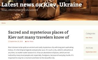 Latest news on Kiev, Ukraine