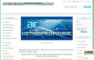 Chemical Powder Shop- Research Chemical