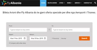 Fly Albania Bileta Avioni