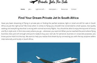 PrivateJetsForSaleInSouthAfrica.co.za