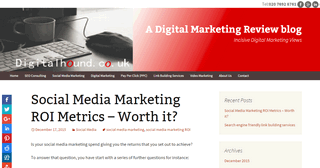 A Digital Marketing Review Blog
